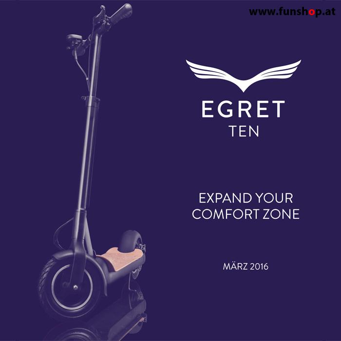 Egret Ten Elektro Scooter im FunShop kaufen 2