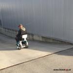 Electric wheelchair Nino from Nino Robotics test drive down beim Experten für Elektromobilität im FunShop Wien testen und kaufen