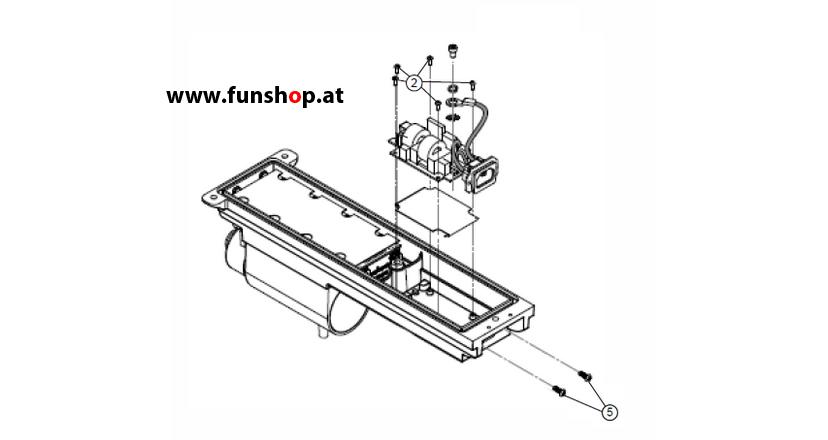 Ersatzteile spare parts Segway i2 x2 Akku AC-Eingangsfilter beim Experten für Elektromobilität im FunShop Wien kaufen