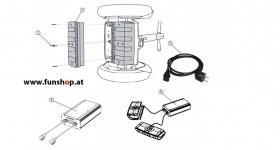 Ersatzteile spare parts Segway i2 x2 Akku Ladegerät beim Experten für Elektromobilität im FunShop Wien kaufen
