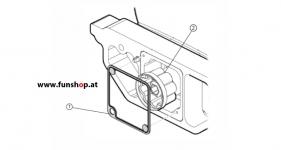 Ersatzteile spare parts Segway i2 x2 Getriebedichtung beim Experten für Elektromobilität im FunShop Wien kaufen