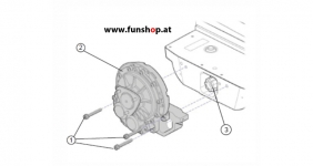 Ersatzteile spare parts Segway i2 x2 Getriebegehäuse beim Experten für Elektromobilität im FunShop Wien kaufen