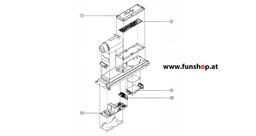 Ersatzteile spare parts Segway i2 x2 Konsolenkomponenten beim Experten für Elektromobilität im FunShop Wien kaufen