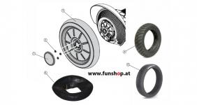 Ersatzteile spare parts Segway i2 x2 Reifen Felgen beim Experten für Elektromobilität im FunShop Wien kaufen