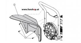 Ersatzteile spare parts Segway x2 Kotflügel beim Experten für Elektromobilität im FunShop Wien kaufen