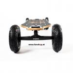 Evolve Bamboo GTX All-Terrain Longboard elektrisches Skateboard von vorne beim Experten für Elektromobilität im FunShop Wien testen und kaufen