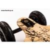 Evolve GT Bamboo All Terrain elektrisches Skateboard von vorne oben beim Experten für Elektromobilität im FunShop Wien testen und kaufen