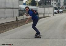 Evolve GT Bamboo Carbon Street elektrisches Longboard Skateboard beim Experten für Elektromobilität im FunShop Wien Österreich kaufen und testen