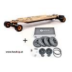 Evolve GT Bamboo Street All Terrain 2in1 elektrisches Skateboard beim Experten für Elektromobilität im FunShop Wien testen und kaufen
