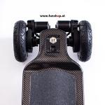 Evolve GT Carbon All Terrain elektrisches Skateboard hinten beim Experten für Elektromobilität im FunShop Wien testen und kaufen