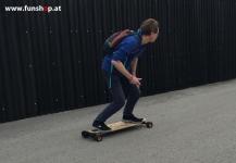 Evolve GT Carbon Bamboo Street All Terrain elektrisches Longboard Skateboard beim Experten für Elektromobilität im FunShop Wien Österreich kaufen und testen