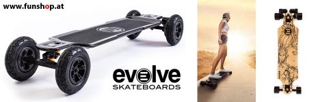 Evolve Skateboard Longboard GT Carbon Bamboo in Österreich beim Experten für Elektromobilität im FunShop Wien Österreich vienna austria kaufen und testen
