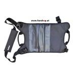 Evolve Sling Bag Rucksack Tasche für Longboards von hinten beim Experten für Elektromobilität im FunShop Wien kaufen