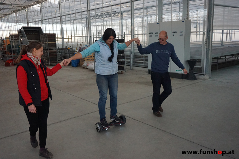 FunShop beim Self Balancing Board-Training