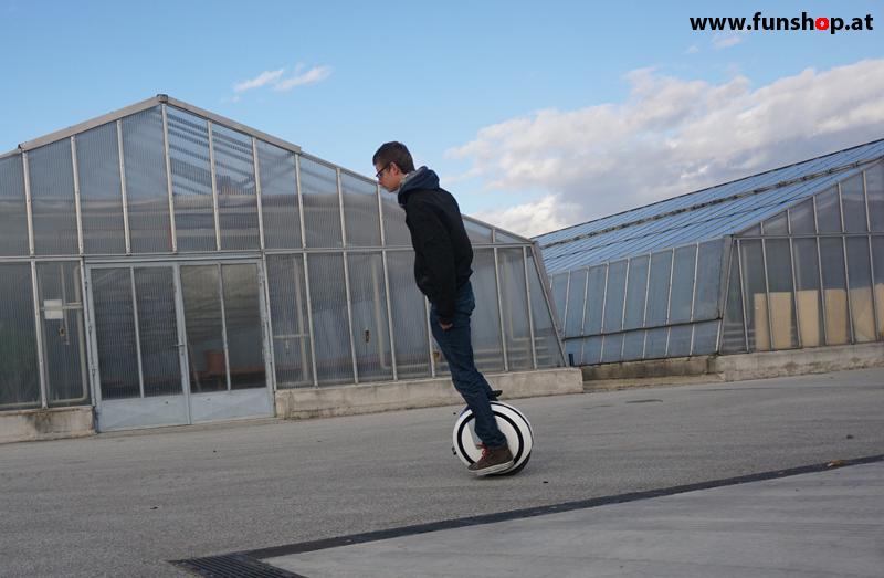 FunShop beim elektrischen Einradtraining