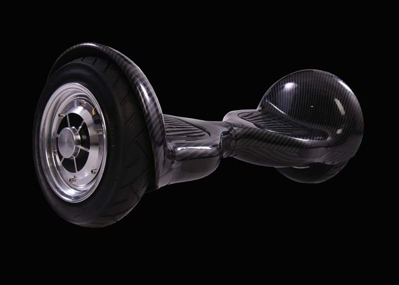 Gefährliches Self Balancing Board Hoverboard mit grossen luftgefüllten Reifen nicht im FunShop kaufen