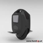 GotWay ACM V2 schwarz 828 Wh elektrisches Einrad mit 16 Zoll von der Seite beim Experten für Elektromobilität im FunShop Wien testen und kaufen