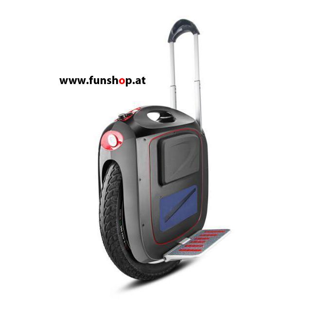 GotWay Msuper V3 schwarz elektrisches Einrad mit Trolleystange beim Experten für Elektromobilität im FunShop Wien testen und kaufen