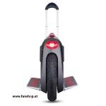 GotWay Msuper V3 schwarz von vorne mit Trolleystange elektrisches Einrad beim Experten für Elektromobilität im FunShop Wien testen und kaufen
