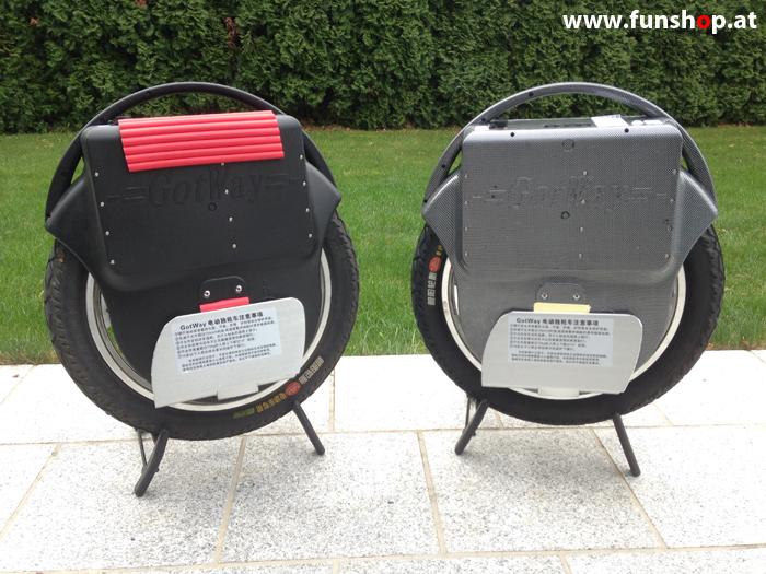 GotWay Msuper schwarz und carbon im FunShop Wien kaufen und testen