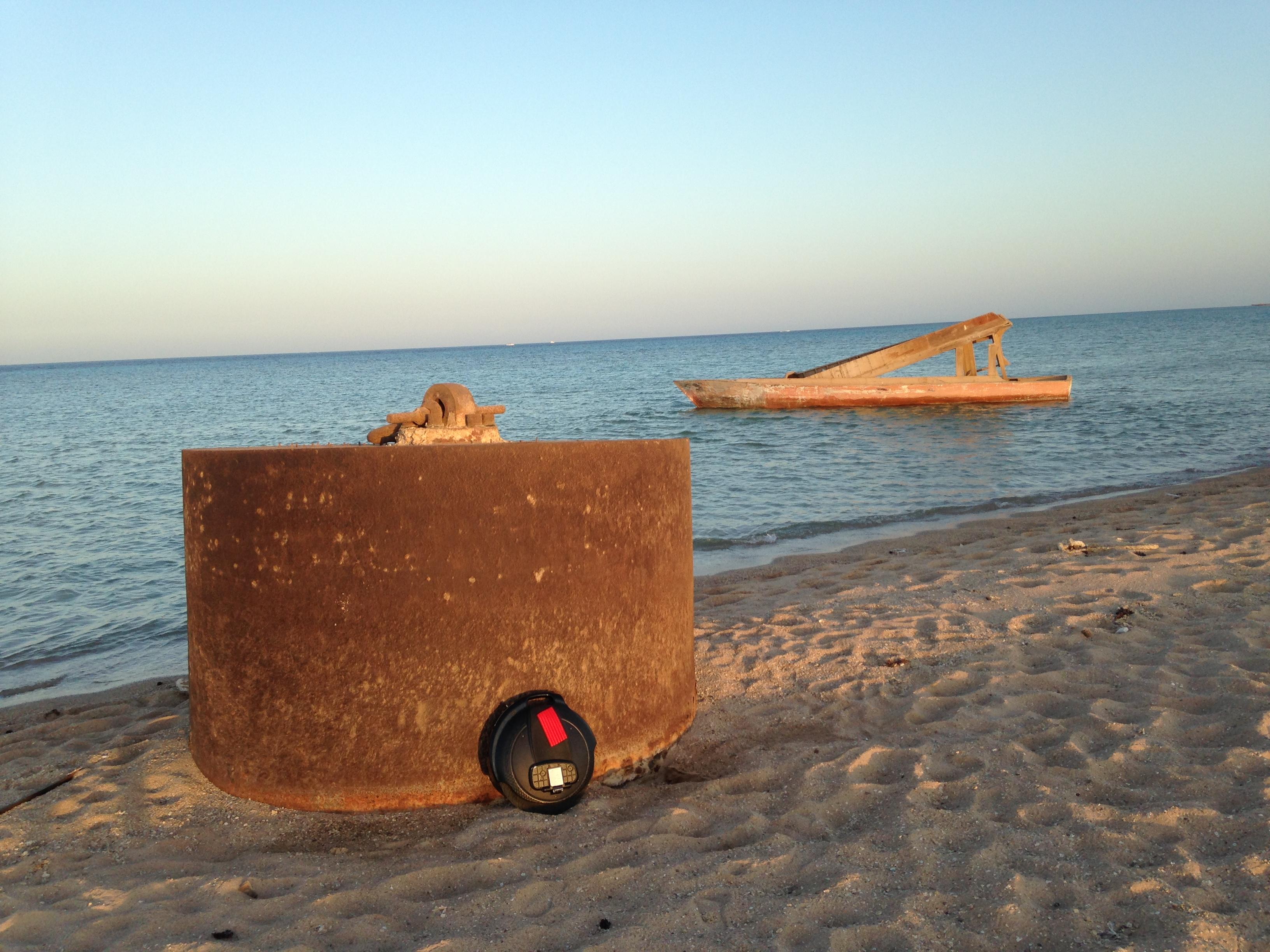 Mit dem Firewheel nach Ägypten