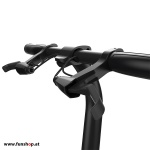 Inmotion P1 elektrisches Klapprad in schwarz Lenker beim Experten für Elektromobilität im FunShop Wien testen probefahren und kaufen