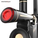 Inmotion P1 elektrisches Klapprad in schwarz mit Licht hinten beim Experten für Elektromobilität im FunShop Wien testen probefahren und kaufen