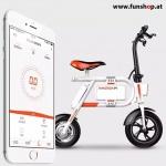 Inmotion P1 elektrisches Klapprad in weiss mit App beim Experten für Elektromobilität im FunShop Wien testen probefahren und kaufen