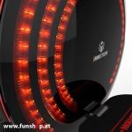 Inmotion V8 elektrisches Einrad 16 Zoll LED Licht beim Experten für Elektromobilität im FunShop Wien testen probefahren und kaufen