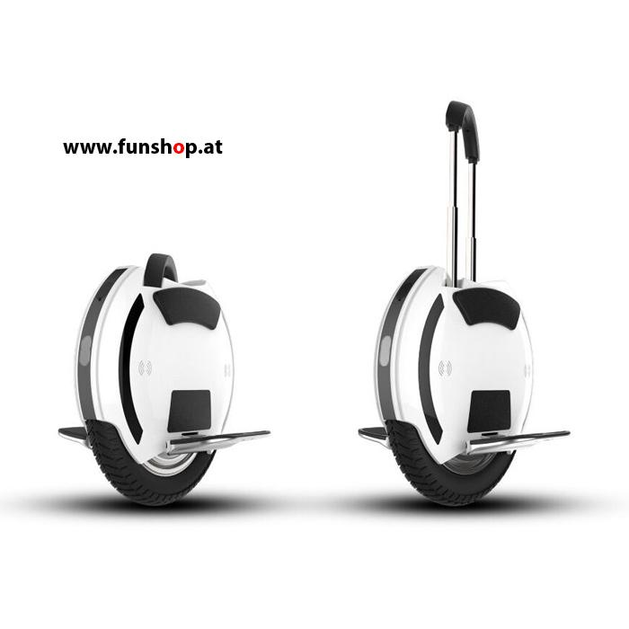 Kingsong KS14D elektrisches Einrad Unicycle E-Wheel 14 Zoll mit Trolleygriff beim Experten für Elektromobilität im FunShop Wien testen kaufen und probefahren