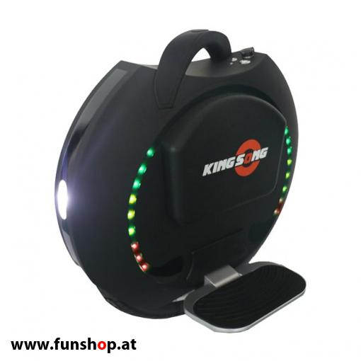 75b247fcda Kingsong KS16S schwarz matt 828 Wh elektrisches Einrad mit 1200 Watt 16  Zoll beim Experten für