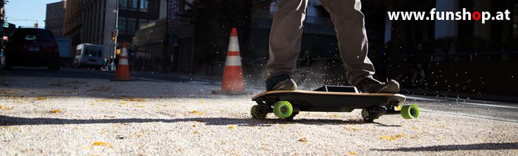 Leif Esnowboard drift und slide beim Experten für Elektromobilität im FunShop Wien testen und kaufen
