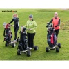 3 ladies using the MK Golfboard