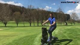 MK Golfboard am Golfplatz in Österreich beim Experten für Elektromobilität im FunShop Wien testen und kaufen