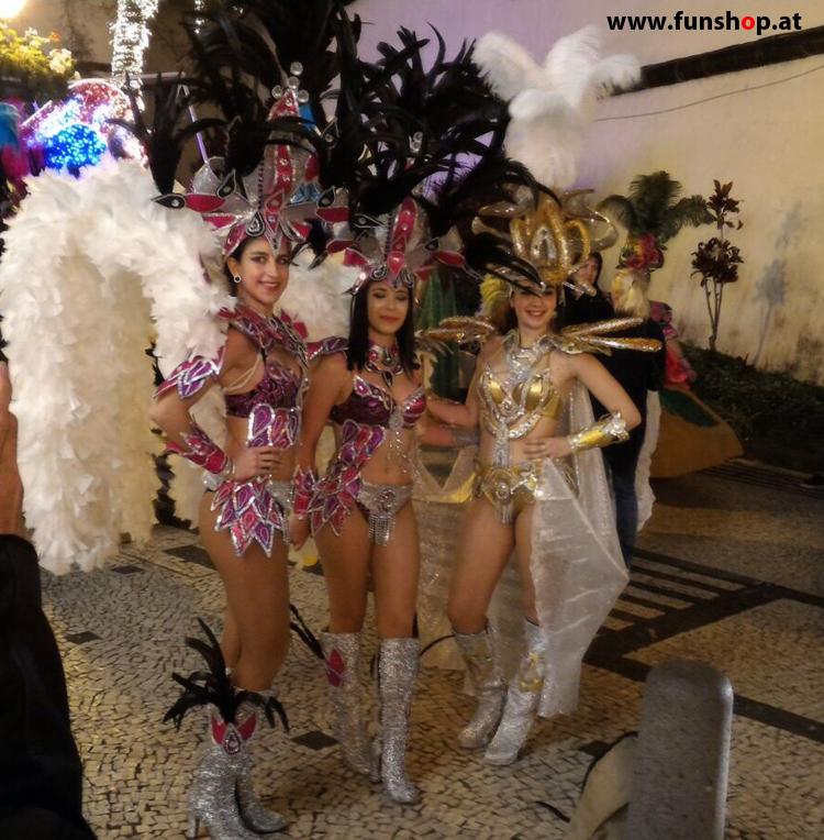 Mit dem elektrischen Einrad auf Madeira Funchal Karneval