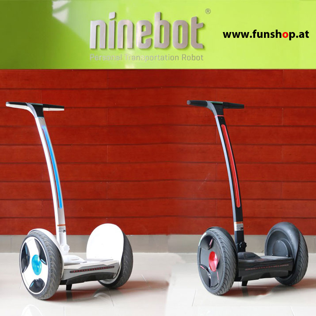 ninebot e schwarz rot funshop kingsong evolve sxt ninebot gotway nino robotics scuddy. Black Bedroom Furniture Sets. Home Design Ideas