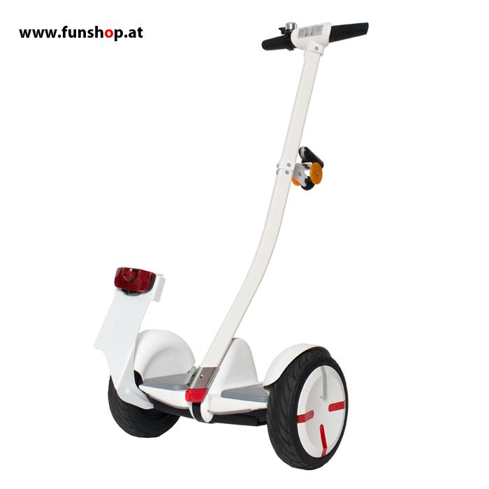 Ninebot Mini Street StVO weiss Minisegway beim Experten für Elektromobilität im FunShop Wien testen kaufen und probefahren