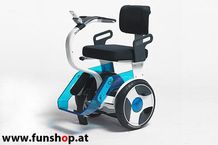 Nino Robotics der neue elektrische selbstbalancierende Rollstuhl der Spass macht im FunShop Wien kaufen testen und probefahren
