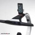 Nino Robotics der neue elektrische selbstbalancierende Rollstuhl in blau und weiss der Spass macht Lenkstange mit Handy im FunShop Wien kaufen testen und probefahren