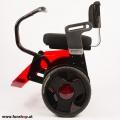 Nino Robotics der neue elektrische selbstbalancierende Rollstuhl in rot und schwarz Seite der Spass macht im FunShop Wien kaufen testen und probefahren
