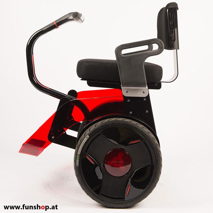 nino rollstuhl schwarz rot funshop kingsong evolve sxt ninebot gotway nino scuddy onewheel. Black Bedroom Furniture Sets. Home Design Ideas