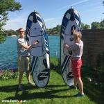 Onean Carver elektrisches Jetboard erster Aufbau electric surfboard carver first installation beim Experten für Elektromobilität im FunShop Wien kaufen