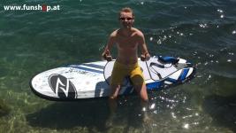Onean Carver elektrisches Jetboard erster Versuch electric surfboard carver first try beim Experten für Elektromobilität im FunShop Wien kaufen