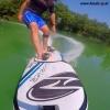 Onean elektrisches Jetboard und Surfboard Carver am Fluss beim Experten für Elektromobilität im FunShop Wien kaufen
