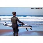 Onean elektrisches Jetboard und Surfboard Carver am Meer beim Experten für Elektromobilität im FunShop Wien kaufen