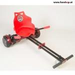 Original Hoverkart in rot für alle Hoverboards mit 6,5, 8 und 10 Zoll Reifen beim Experten FunShop Wien kaufen