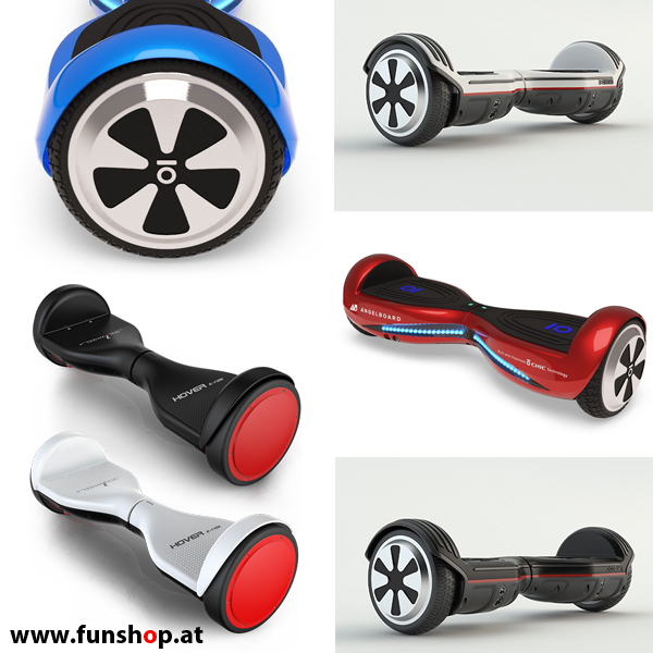 Gruppe: Self Balancing Boards (Hoverboards)