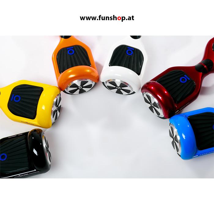 Original IO AngelBoard weiss schwarz gelb orange rot blau im FunShop kaufen