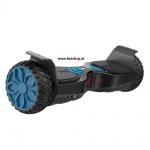Original IO Hawk Cross Mini von der Seite in schwarz beim Hoverboard Experten FunShop Wien kaufen