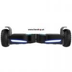 Original IO Hawk Cross Mini von vorne in schwarz beim Hoverboard Experten FunShop Wien kaufen